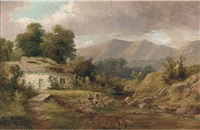 the malvern hills by w.b. henley