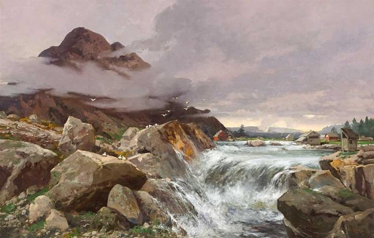 wasserfälle norwegen bilder