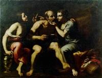 lot et le figlie by antonio della cornia
