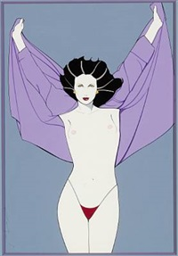 playboy painting by patrick nagel
