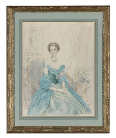portrait of brooke astor by cecil beaton