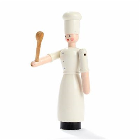 chef with ladle by kay bojesen