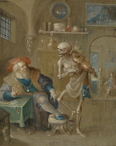 der geigende tod by frans francken the younger