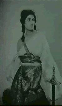 judith mit dem haupt des holophernes by m. klocke