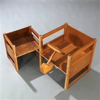 childrens chairs (pair) by kay bojesen and magnus l. stephensen
