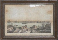 view of newburyport from salisbury by fitz henry lane