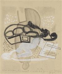 ein teil der umkehrung zum gegenstand (...) 1934 by max ackermann