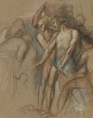 figuren study by lord frederick leighton