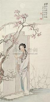 人面桃花 (character) by huang danru