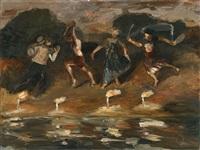 untitled (tanzen) by harald metzkes