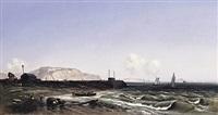 kreidefelsen an der küste von dieppe (after ernst rieck) by oliver oesterheld