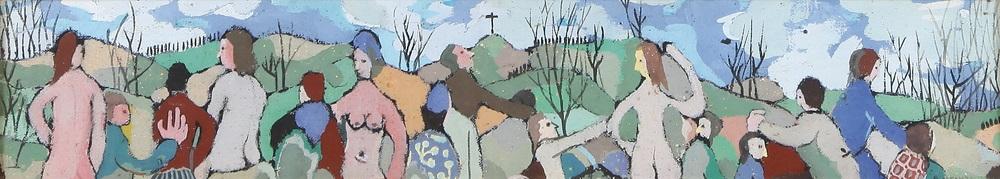 figure nel paesaggio by adalberto campagnoli