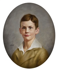 jungenportrait by august wilde