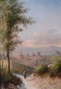 firenze da montici by karoly marko the younger