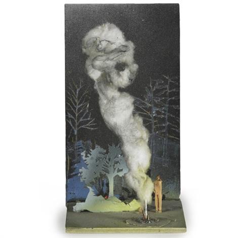 fire and man by jules de balincourt
