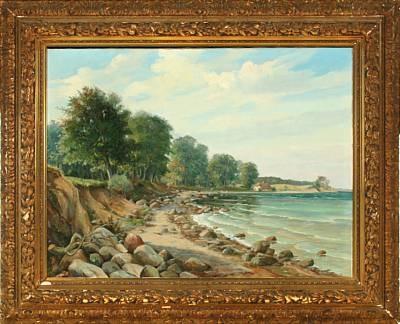fløjstrup beach by aksel aabrink
