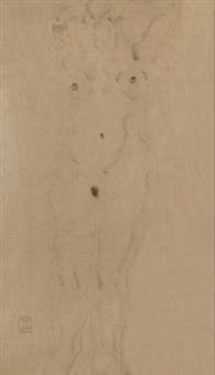 30年代作 裸女 (nude) by sanyu