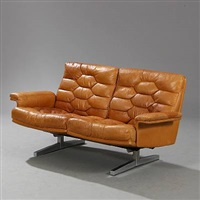 freestanding two seater sofa by de sede