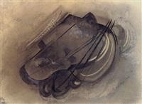abstrakte komposition by rudolf belling