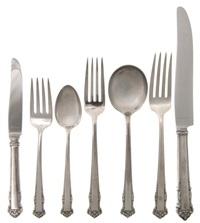 flatware service (set of 96) by lunt (co.)