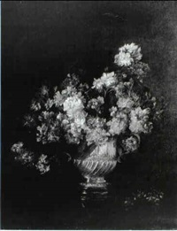 flowers in a vase by jessie algie