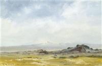asiatische landschaft by rostislav nikolaevic barto