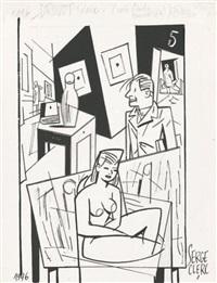 un après-midi à drouot, page 18 by serge clerc