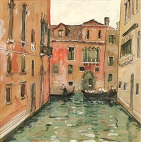 a canal venice by jane peterson