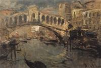 il ponte di rialto by alessandro catalani