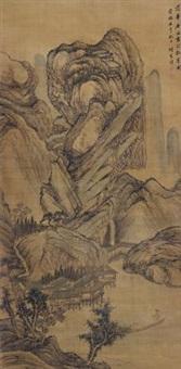 拟范华原笔意 by xiang shengmo