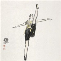 舞蹈人物 by liang yao