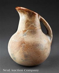 pitcher by peter anderson by shearwater pottery