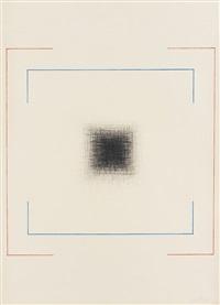2 blätter: abstrakte kompositionen (2 works) by kaspar thomas lenk