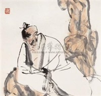 人物 (figure) by dai wei