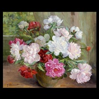peonies by georges danset