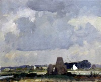 st. benet's abbey, norfolk by edward holroyd pearce