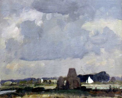 st benets abbey norfolk by edward holroyd pearce