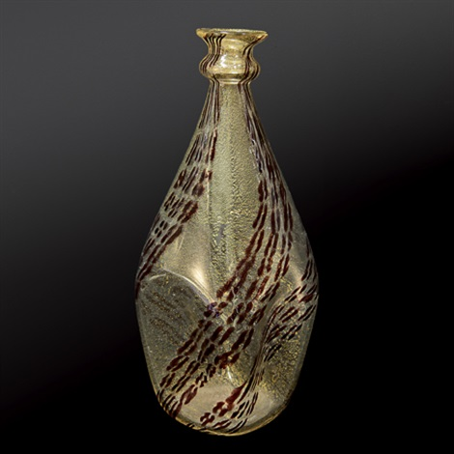 vaso bulinato by ercole barovier