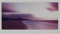 spiaggia al tramonto by vincenzo castella