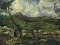 paesaggio by ermenegildo agazzi