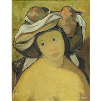 signora con cappello by toffolo anzil