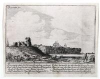 die ruine von schloss assemburg by pieter janz saenredam