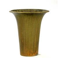 large floor vase by herman august kähler