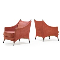 lounge chairs (pair) by elizabeth garouste and mattia bonetti