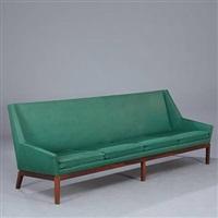 freestanding four seater sofa by erik kolling andersen