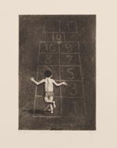 bambino che gioca by domenico gnoli