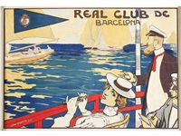 real club de barcelona by juan llaverias labro
