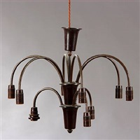 ph-1/1 cascade chandelier by poul henningsen