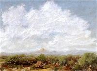 western landscape by hurlestone fairchild