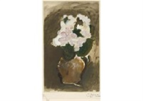 flowers by georges braque